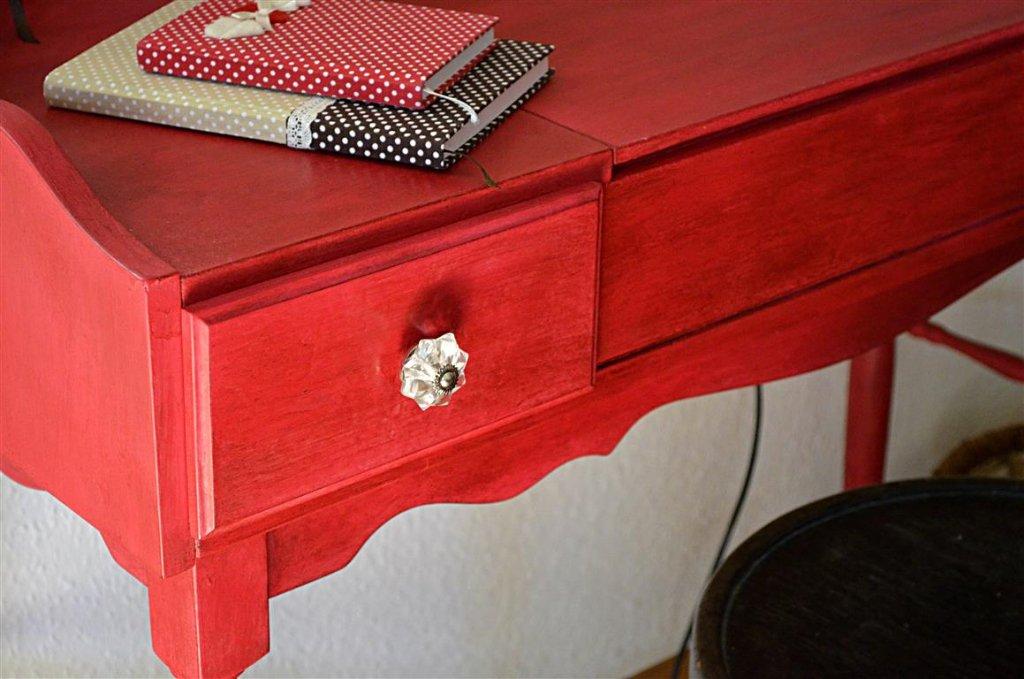 DIY festett asztal ASCP krétafesték