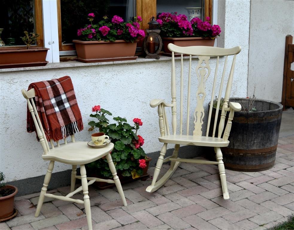 bonanza székek festése krétafestékkel