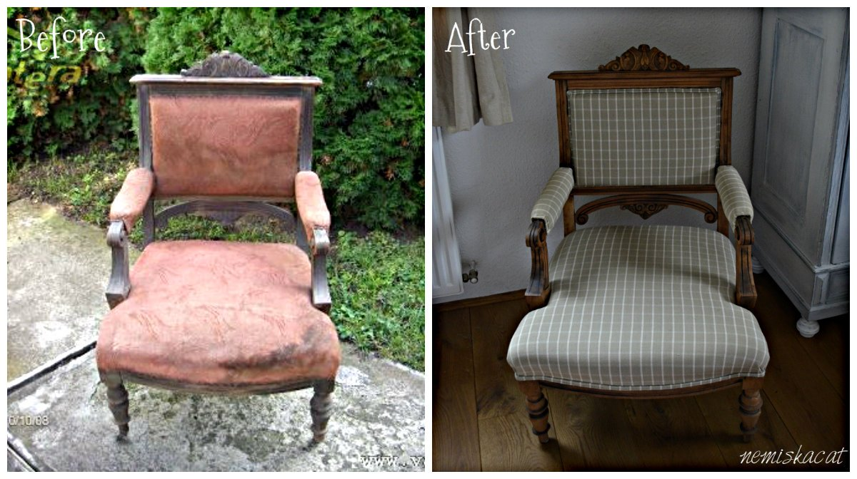 ónémet fotel felújítás
